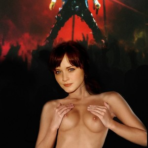 Alexis Bledel Nude Celeb Pic sexy 13