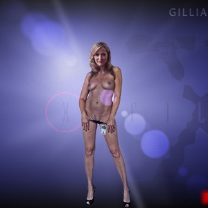 Gillian Anderson naked