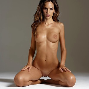 Hilary Swank  nackt