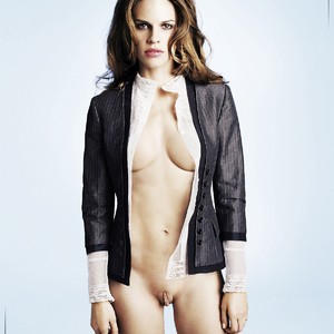 Swank naked hilary Why Hollywood