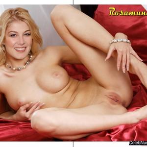 Rosamund Pike fake nude celebs